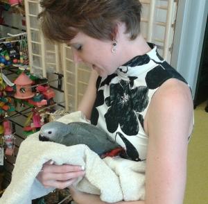 me holding Philip